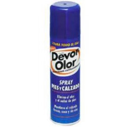 Devor Olor Desodorante Antitrasp Pies Y Calzado Spray 150 Ml